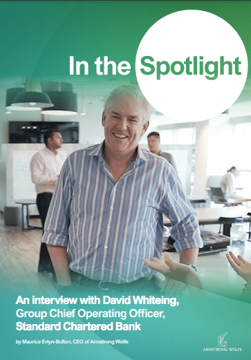 In the Spotlight: An interview with David Whiteing, Group Chief Operating Officer, Standard Chartered Bank