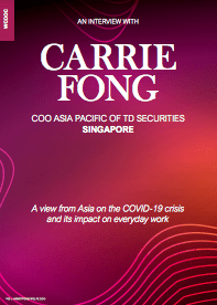 CARRIE FONG COO ASIA PACIFIC OF TD SECURITIES SINGAPORE
