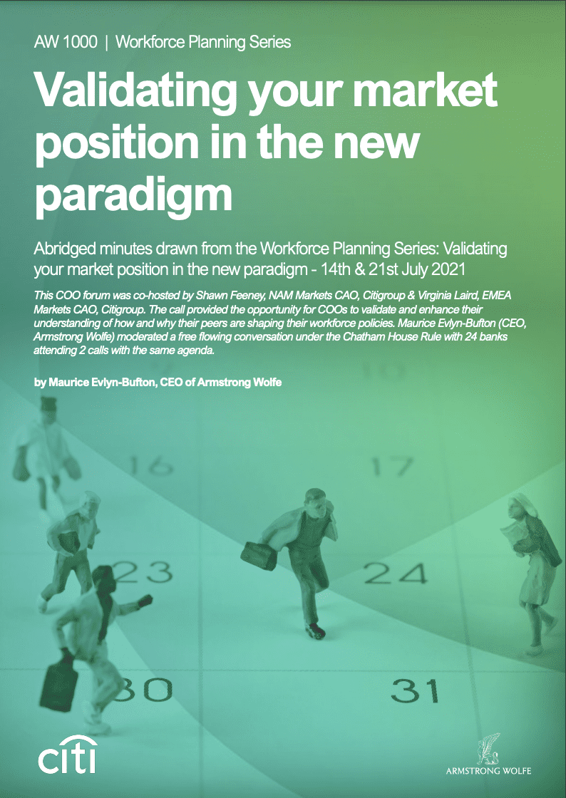 Validating your market position in the new paradigm