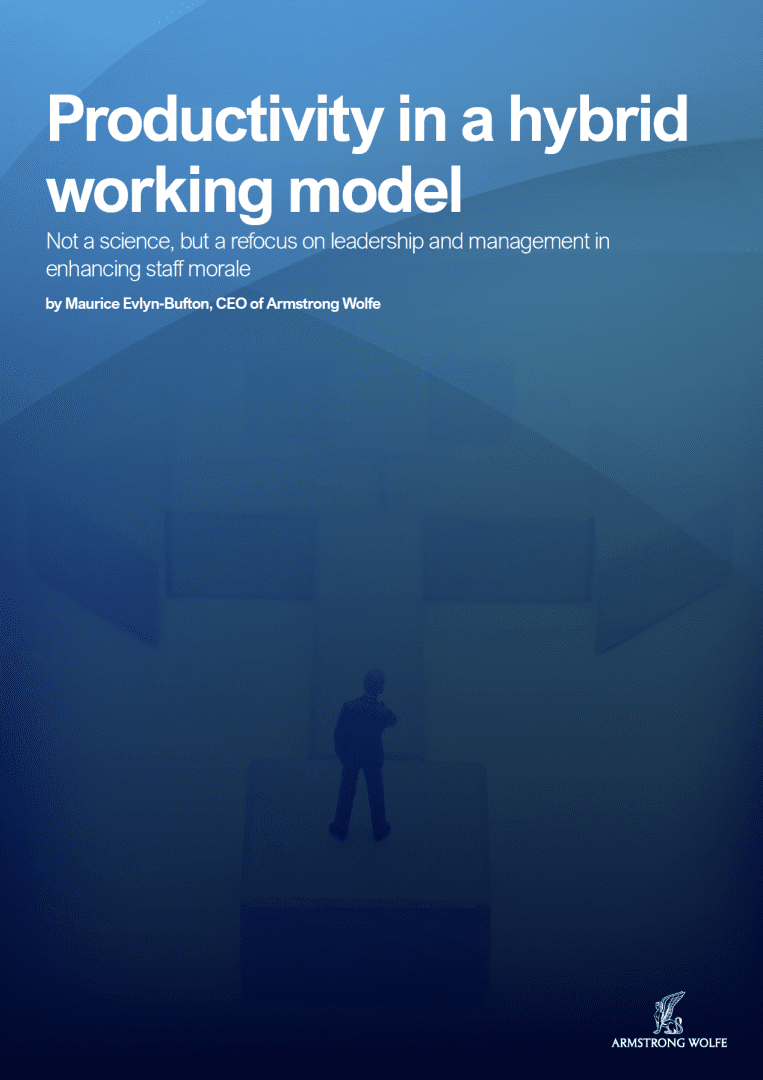 Productivity in a hybrid working model