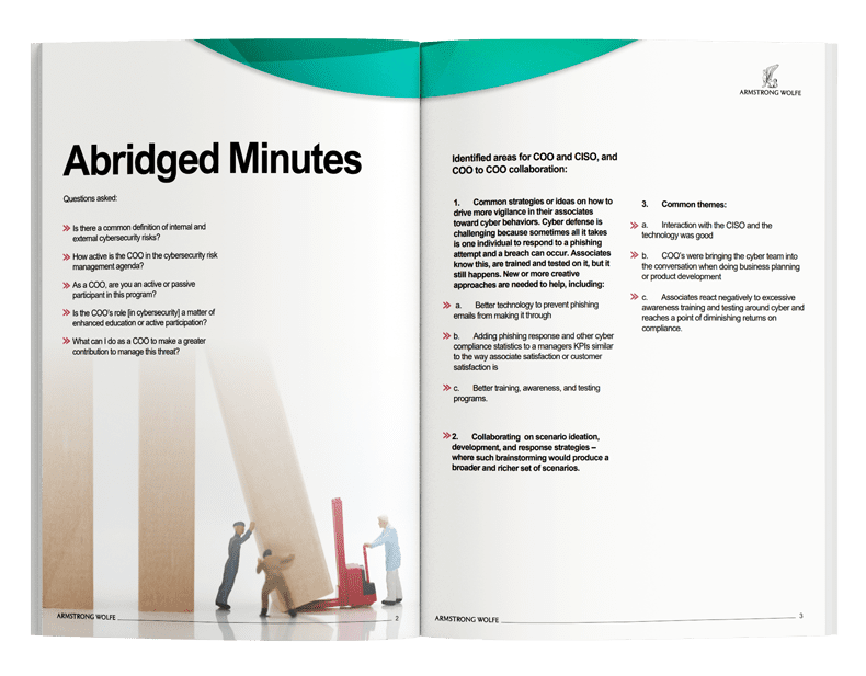 Q3 Cyber Risk minutes